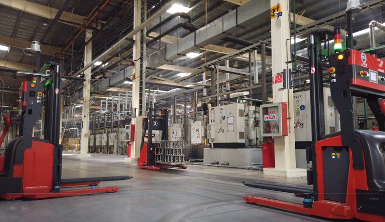 SMART FACTORY LOGISTIC AGV WMS WAREHOUSE STORAGE LIND